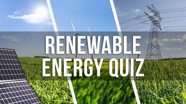 Energy Quiz