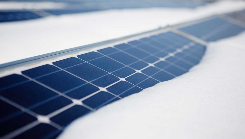 Winter Solar Panels Canada