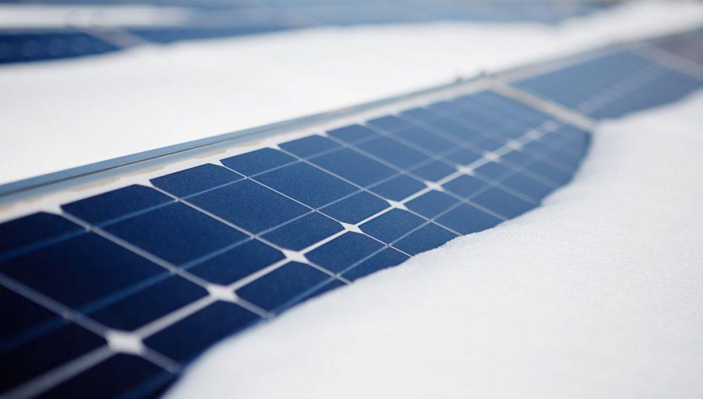 Solar Panels in SNow